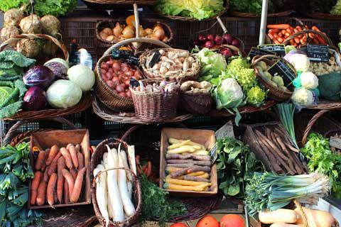Vegetable Market in Marseille, France
